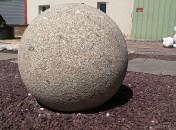 sphère en granit